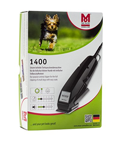Moser Tierschermaschine Typ 1400, Animal Clipper-Set Clam Shell - 4