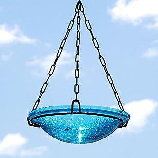 Achla Designs Teal Hanging Birdbath Achla Designs Teal Hanging Birdbath 51vPhg6PJTL