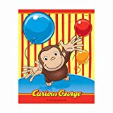 Curious George Loot Bags 8ct