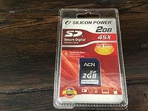 Silicon Power Carte 2GB Secure Digital Card (45X)