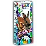 Lolo Pets Kräcker Joghurt und Löwenzahn für Kaninchen, 10er Pack (10 x 90 g)