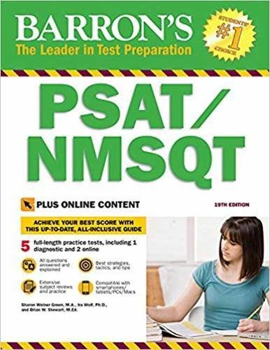 PSAT / NMSQT: with Bonus Online Tests (Barron's PSAT/NMSQT)