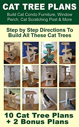 Cat Tree Plans Build Cat Condo Furniture Window Perch