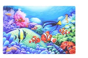 3D HOLOGRAPHIC SEA LIFE DESIGN PLACEMATS - 3 ASSORTED ...