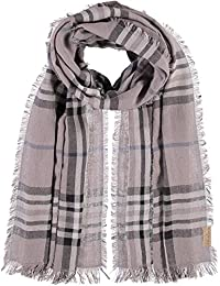 FRAAS Men's Checkered Scarf One Size (Manufacturer's Size: os)
