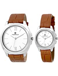 Timewear Analog Silver dial Couple Watch - 907SDTCOUPLE