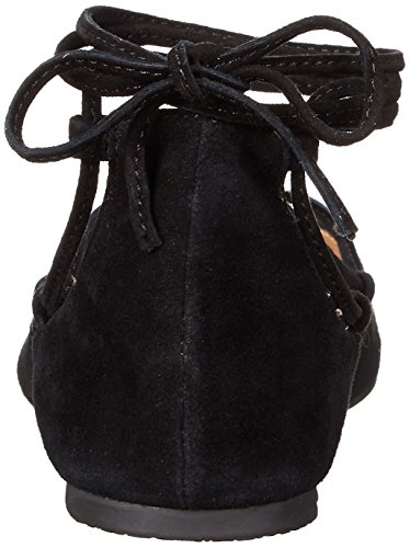 Ballerina Steve Madden Eleanorr in camoscio nero Black