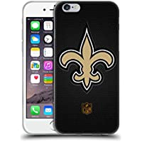 Official NFL Football New Orleans Saints Logo Soft Gel Case for Apple iPhone 6 / 6s