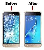 MMOBIEL Front Glas Reparatur Set für Samsung Galaxy J3 SM J320 (2016) Series (Weiß) Display mit 11 TLG. Werkzeug-Set Vergleich
