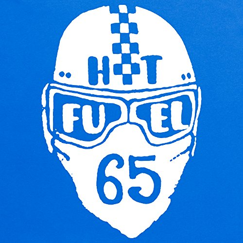 HotFuel Helmet T-Shirt, Herren Royalblau