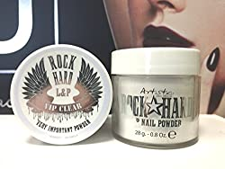 Artistic Rock Hard L&P Nail Powder, VIP Clear 28 g