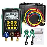 BELEY Refrigeration pressure gauge Temp Dignostic kit HVAC sistema digitale
