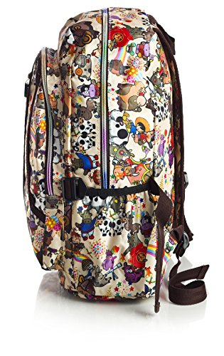 Big Handbag Shop ,  Unisex-Erwachsene Tasche Backpack 8130 - Circus Jokers