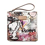 Codello Kosmetiktasche  Coated Peanuts Snoopy Grafitti - Black,One size (Herstellergröße: 20X22 cm)