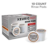 Keurig 5000057588 Rinse Brews in Both Classic 1.0 and Plus 2.0 Series K-Cup Pod Coffee Makers Plastic White