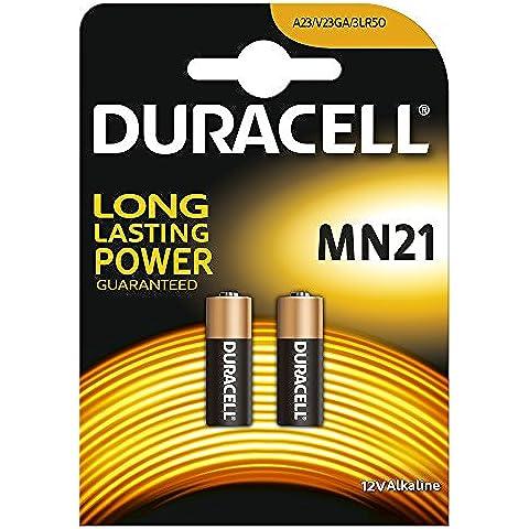 Duracell MN21 -  Batterie, 1 Confezione da 2 pezzi