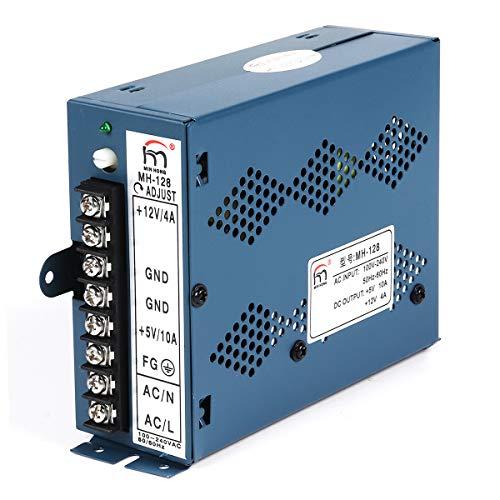 MYAMIA Universal-Eingang 240V/100V Ausgang 12V + 5V Switching Power Supply Box Adapter für Jamma Arcade (Adapter Switching Power 5v)