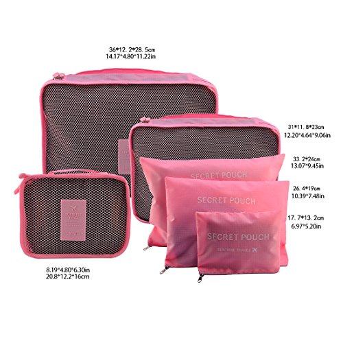 FOKOM - Portatrajes de viaje , Rosa (rosa) - OQMW151106RCU3M479