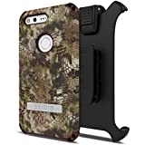 Seidio Dilex Kryptek Case with Kickstand and Holster Combo for Google Pixel - Highlander