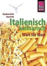 Kauderwelsch, Italienisch kulinarisch Wort für Wort