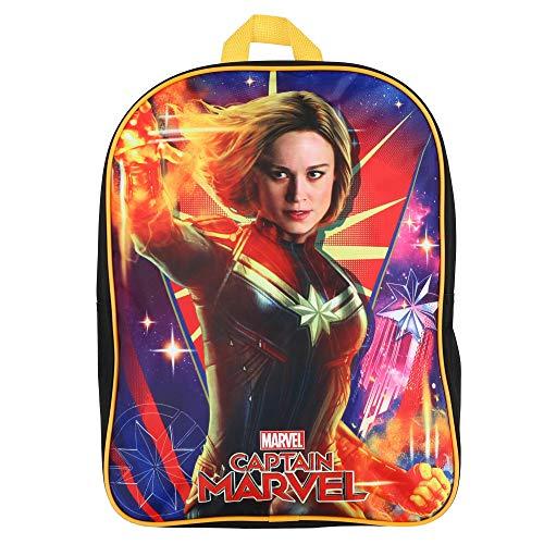 """Marvel Capitán América 15"""" Mochila Escolar"""