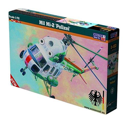 Mistercraft D-153 - Modellbausatz Mi-2 Polizei (Mi-hubschrauber)