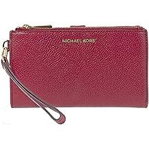 MICHAEL Michael Kors Mujeres bolso de mano teléfono guijarro de Mercer Rojo
