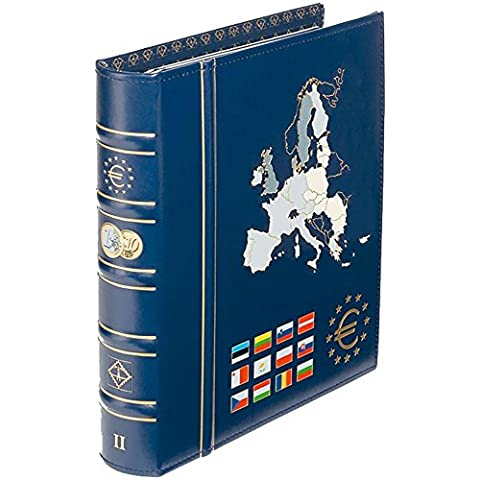 Leuchtturm 302742 Álbum para monedas VISTA, de euro, tomo 2