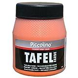 PICCOLINO Tafelfarbe 250ml Orange - Tafellack zum Malen einer mit