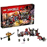 LEGO Ninjago 70640 - Hauptquartier der Motorradfahrer, Bauspielzeug