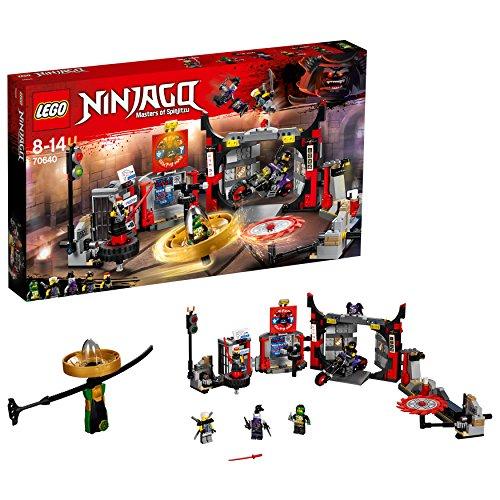 Lego Ninjago (IT- Quartier Generale S.O.G, Multicolore, 70640