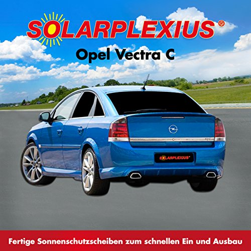 Preisvergleich Produktbild Autosonnenschutz Scheibentönung VECTRA-C Fließheck GTC Bj. 2003-08 Art. 25973E-5