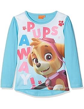 Paw Patrol Ls T-Shirt, Maglia a Maniche Lunghe Bambina