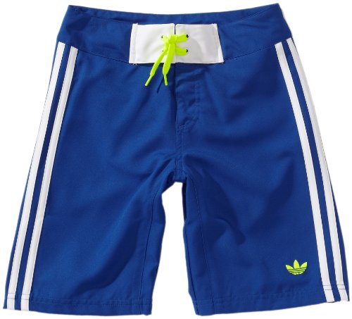 adidas Jungen Badeshorts Boardshort, True Blue/White, 164, Z34730