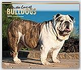 Bulldogs – For the Love of 2018 - 18-Monatskalender mit freier DogDays-App: Original BrownTrout-Kalender - Deluxe [Mehrsprachig] [Kalender] (Deluxe-Kalender)