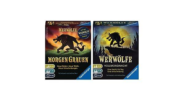 MorgenGrauen Ravensburger 267293 Werwölfe Moderne Kartenspiele