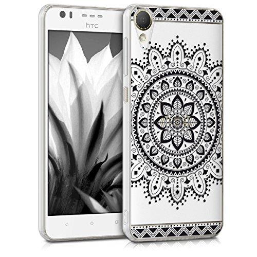 kwmobile HTC Desire 10 Lifestyle Hülle - Handyhülle für HTC Desire 10 Lifestyle - Handy Case in Schwarz Transparent