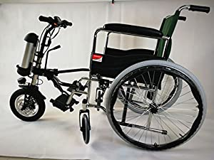 Theebikemotor 36V350W Electric Attachable Handcycle for Standard WheelChair with 9Ah Lithium Battery