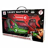 Light Battle Active pistola juguete: 1x light tag pistola verde + 1x pistola arancio - LBAP10212D