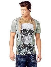 Cipo & Baxx Herren T-Shirt Skelet