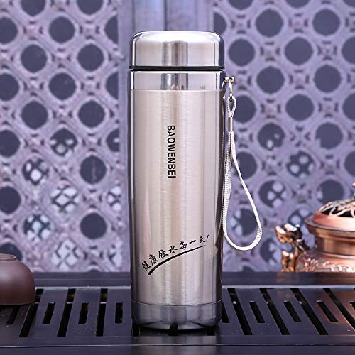 dongzhifeng Thermos Vacuum Bottle Liter Thermos Thermos Filter Insulation Thermos Mug Thermos Thermos Coffee Cup Stainless Steel Thermos Thermos