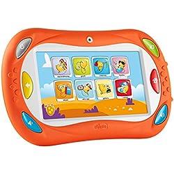 Chicco Happy Tab Talent Edition, tablet para niños con bloqueo de perfiles