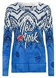 Marc Aurel Damen Pullover Größe 42 Blau (blau)