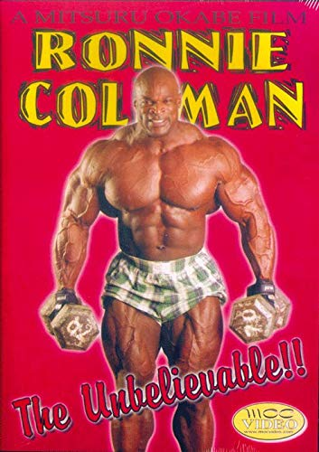 Ronnie Coleman The Unbelievable (Ronnie Coleman-dvd)