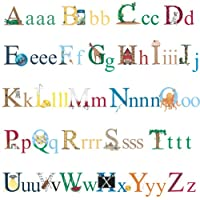 RoomMates Repositionable Childrens Wall Stickers Alphabet
