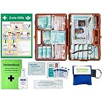 Erste-Hilfe-Koffer M2 PLUS für Betriebe ab 50 Mitarbeiter DIN/EN 13169 -Paket 2- incl. AUSHANG & Verbandbuch &... preisvergleich bei billige-tabletten.eu