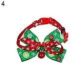 Hundehalsband mit Schleife, Weihnachtsgeschenk