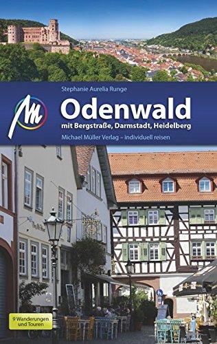 Preisvergleich Produktbild Odenwald: mit Bergstraße,  Darmstadt,  Heidelberg