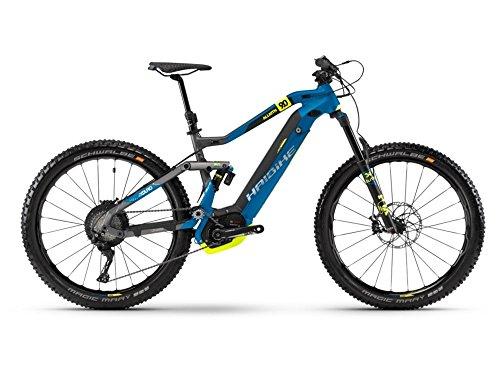 Haibike XDURO AllMtn 9.0 E-Bike 500Wh E-Mountainbike titan/blau/schwarz matt