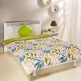 Amazon Brand - Solimo Microfibre Printed Comforter, Single (Autumn Leaves, 200 GSM)